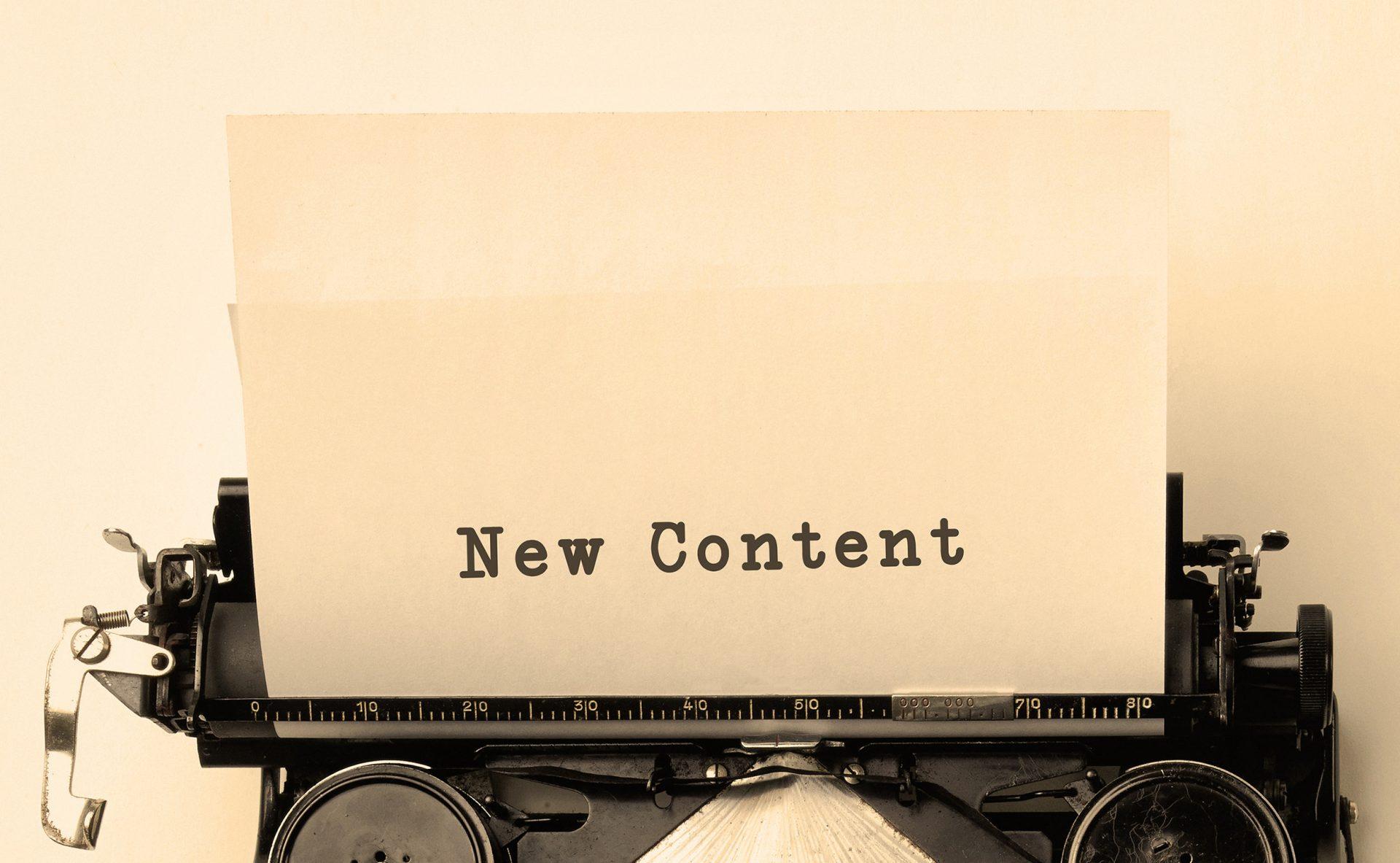 Añadimos nuevos contenidos en tus páginas web
